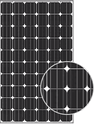 AS-6M Transparent AS-6M30-255 Solar Panel