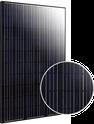 Elite Black Monocrystalline ET-M660280BB Solar Panel