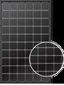 LR6-60PB LNG-305-LR6-60PB-BK Solar Panel