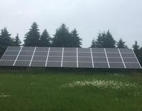 Picture of 10 kW ground-mount in Afton, MN