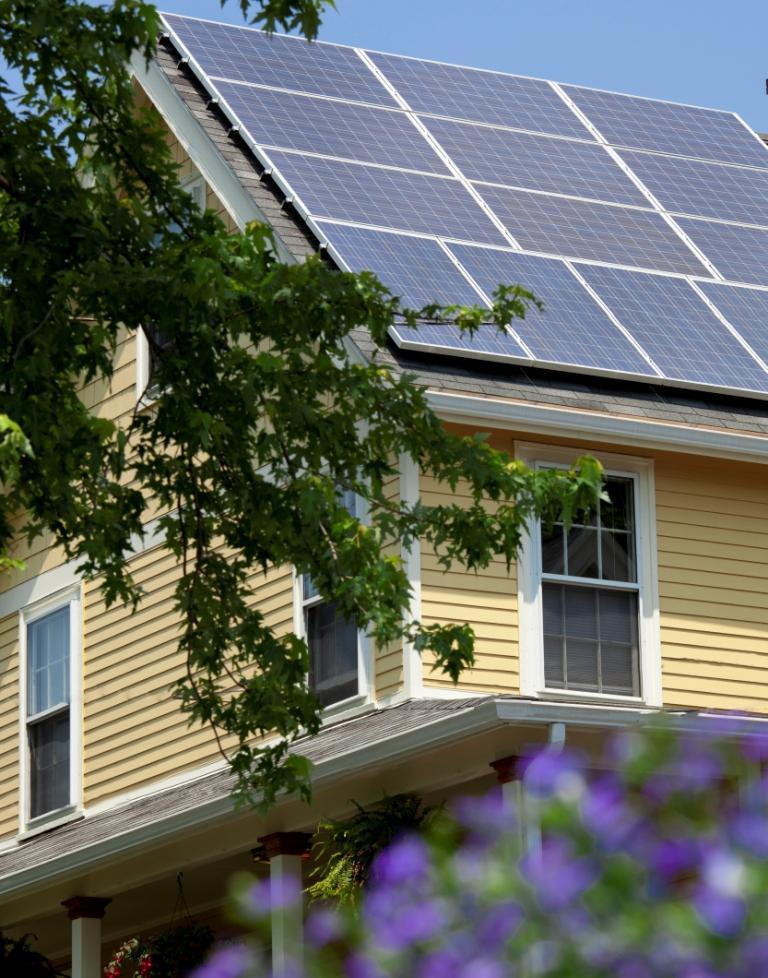 Residential solar pv energysage for Solar panels for 2500 sq ft home