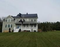 Solar installation in Andover