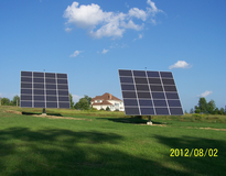 Picture of 12kW Residential Photovoltaic solar tracker system