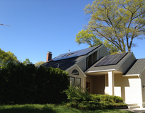 Picture of Solar Powered Home and Electric Car
