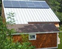 INTEGRATA architecture+construction - Solar Photovoltaics - Woods Hole Residence