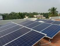 Picture of Solar Panel Installation in Ram Nagar, Tharshana Hospital,Sivaganggai, Tamil Nadu By Loom Solar