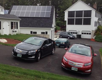 Picture of Garage with Microinverters