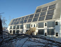 Picture of Solar Domestic Hot Water, Space Heating, and Swimming Pool Heating Systems in MA