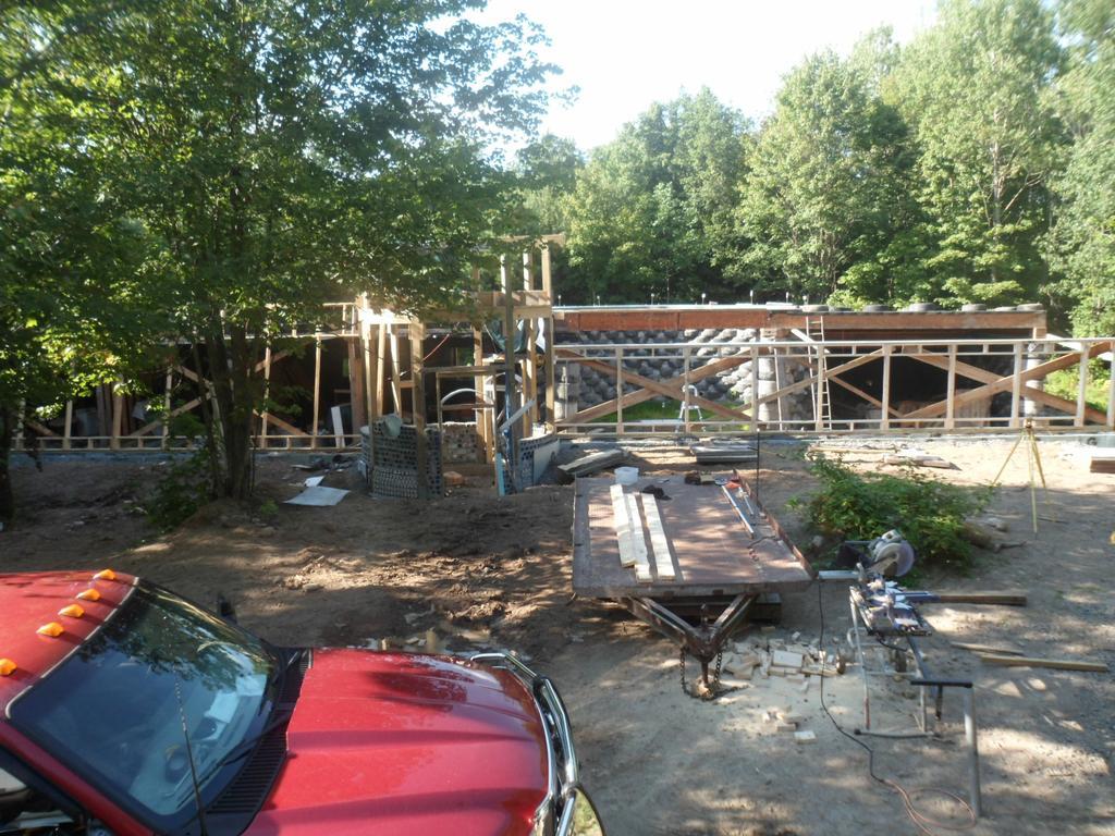 Solar Earthship Tire House Passive Solar Case Study