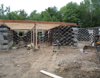 Picture of Solar Earthship (Tire House) Passive Solar Case Study