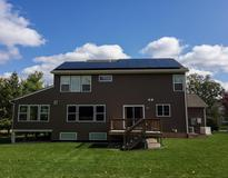 picture of Cannon Township MI Residential Grid Tied Solar PV