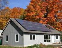Solar Energy House - Maynard - MA: Solar Space Heating