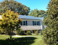 Residential Photovoltaic System, American made equipment, Yarmouth Port, MA