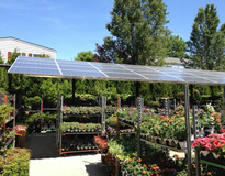 Picture of Garden Center powered by Solar!