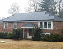 picture of 13.7 kw Sunpower!