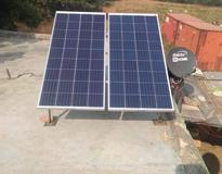Solar Panel Installation in Rajokri Village, South Delhi