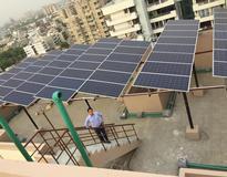 Kenbrook solar installed 20kW solar power plant in Gurgaon, Delhi India.