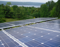 Picture of Loehr Solar PV System in New York