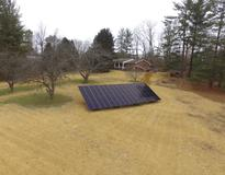 Picture of 12.4kW Ground Mount System