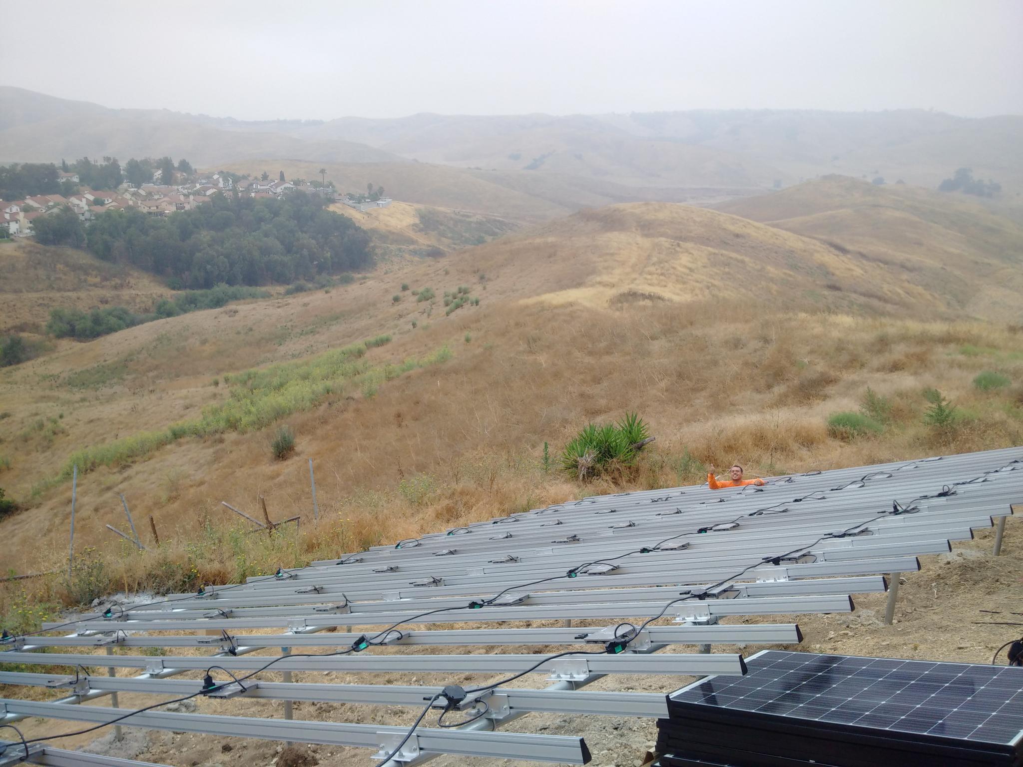 Solar Ground Mount At Luxury Estate Energysage