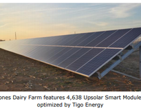 Picture of 1.3MW Installation at Jones Dairy Farm, Maryland