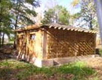 Riverside-Salem Straw-bale Shelter - Grand Island - NY