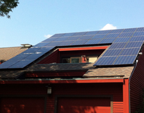 Picture of residential photovoltaic,  Lexington, MA