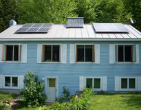 Picture of Enfield, NH, Solar PV, Solar Hot Water, and Electric Car