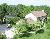 Picture of Solar Photovoltaic, Solar Water Heating, Passive Solar Design: Stitt Residence