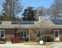 Picture of First Parish in Framingham Solar Panels