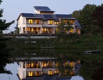 Near Merezero: Kaplan Thompson Architects - Falmouth - ME: Solar Space Heating