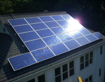 Beautiful Home Solar Installation