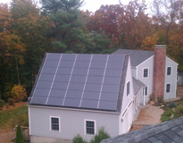 7.7 kW Solar System with whole house Kohler backup generator (14 Kw)
