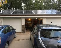 6.84 kW system using SolarWorld modules and SolarEdge inverter
