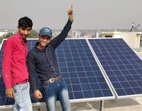 Solar Panel Installation in Jaitpur Village, Badarpur, New Delhi By Loom Solar