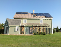 Mayberry house Solar hotwater