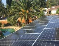 22.1 kW Solar System in Hillview Park Ave, Van Nuys, CA 91401, USA