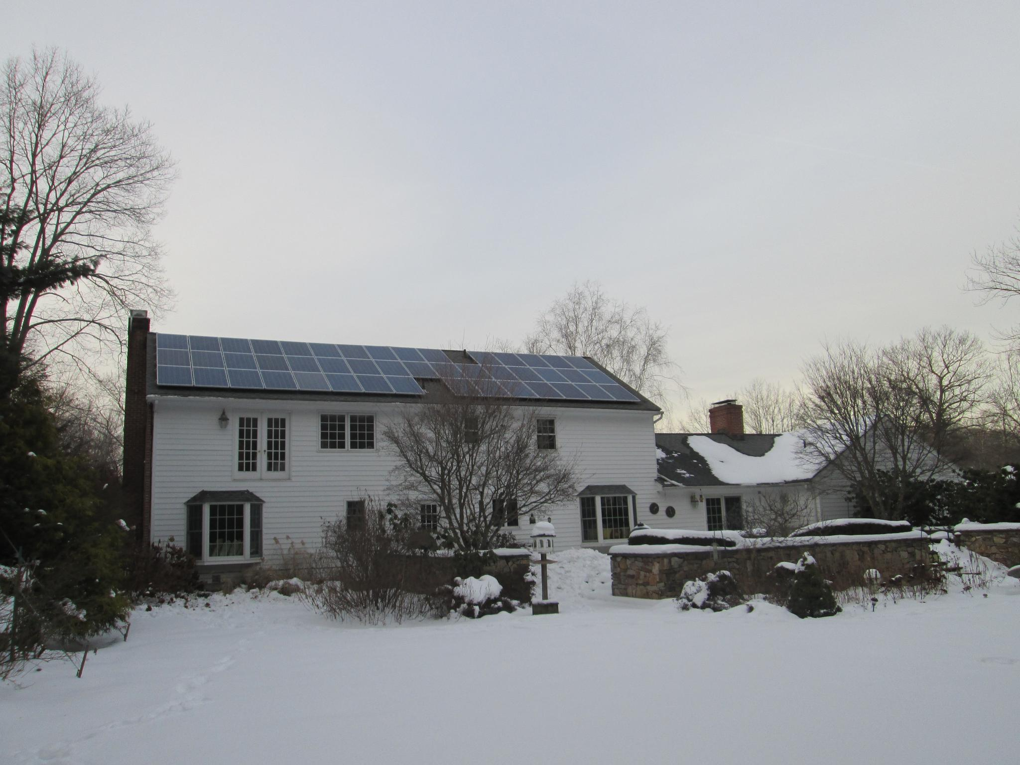 Residential Solar Pv System Easton Ct Energysage