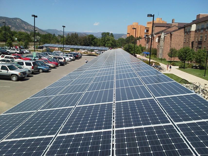 Cu Boulder 100 Kw Solar Carport Energysage