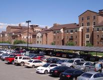 picture of CU Boulder 100 KW Solar Carport