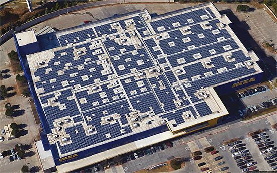 Dfw solar tour ikea dallas energysage for Ikea in dallas