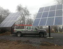 3 Solar Electric Systems on site