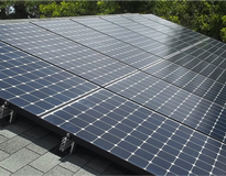 picture of Landis Residential Solar Installation!