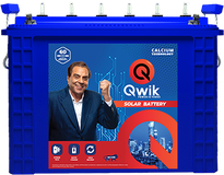 Picture of Solar Batteries in India | Qwik Batteries