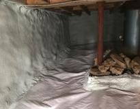 Picture of Insulating a crawl space in Vermont cabin for winter