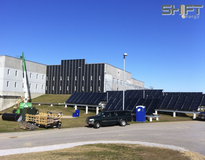 Picture of Merrimack County Corrections - 64 Collector Solar Hot Water & 1,400sf Solar Air Heating