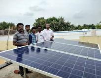 Picture of 5 KW solar Installations in Sivaganggai, Tamil Nadu by Loom Solar