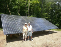 Solar photovoltaic (PV) in Sharon, CT