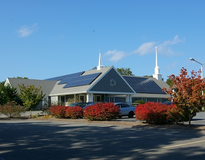 Picture of St. Peter's 34.04 kW photovoltaic system, East Harwich, MA