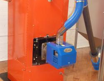 Picture of EcoBoiler™ Pellet Boiler - for the comfort and convenience of zoned heat using low-cost wood pellets.